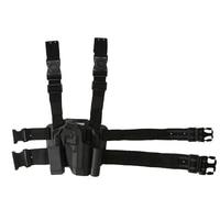 Tactical M92 Leg Holster Left Hand Paddle Thigh Belt Drop Pistol Gun Thigh Holster With Magazine