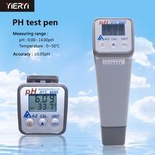 Yieryi AZ8690 45 Graden Tilt LCD Draagbare Water pH Tester Handheld Precisie Laboratorium Industriële ph Meter Test Pen Meter(China)