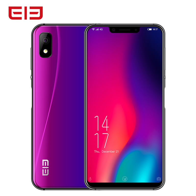 Elephone A4 Pro 4G LTE Smartphone 5.85 Inch HD+ U-Notch Screen Mobile Phone Android 8.1 4G+64GB MT6763 Octa Core 16MP Cell Phone