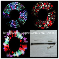 Full Color 2 80 Pixels Led Visual Poi LED DIY Programmable Performance Magic Stick For Party