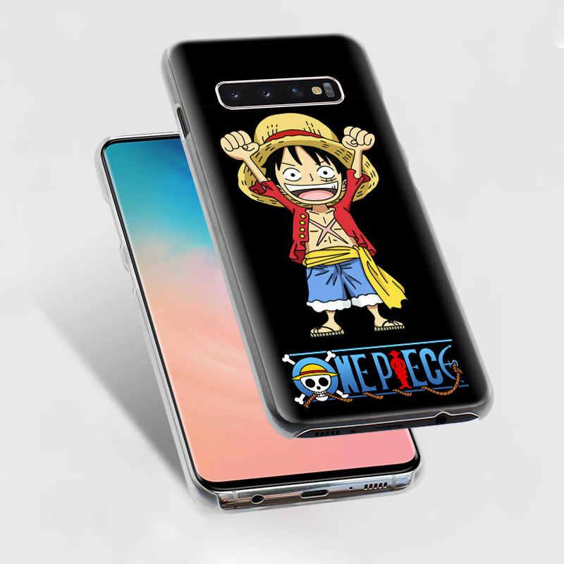 חתיכה אחת לופי דגל לוגו מקרי טלפון עבור Samsung Galaxy S10e S10 S8 S9 בתוספת M10 M20 M30 A50 S6 s7 קצה קשה מקרה כיסוי