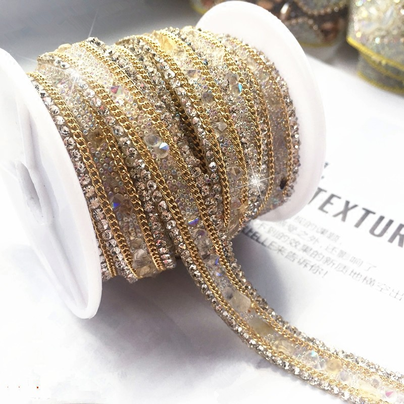Sequins Peal Rhinestone Tassels Wedding Dress Accessories Beaded Lace Trim Fabric Applique Patches Sew On Trim For Clothing