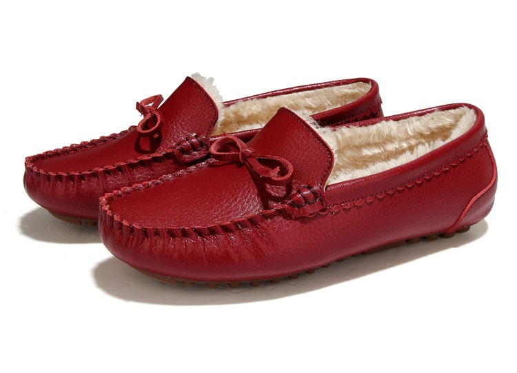 AH 5710  (4) women winter loafers