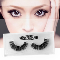 1 Pair Natural Soft Classic 3D Mink False Eyelashes Thick Long Cross Lashes Extension Tools For Makeup Beauty A06 False Eyelashes