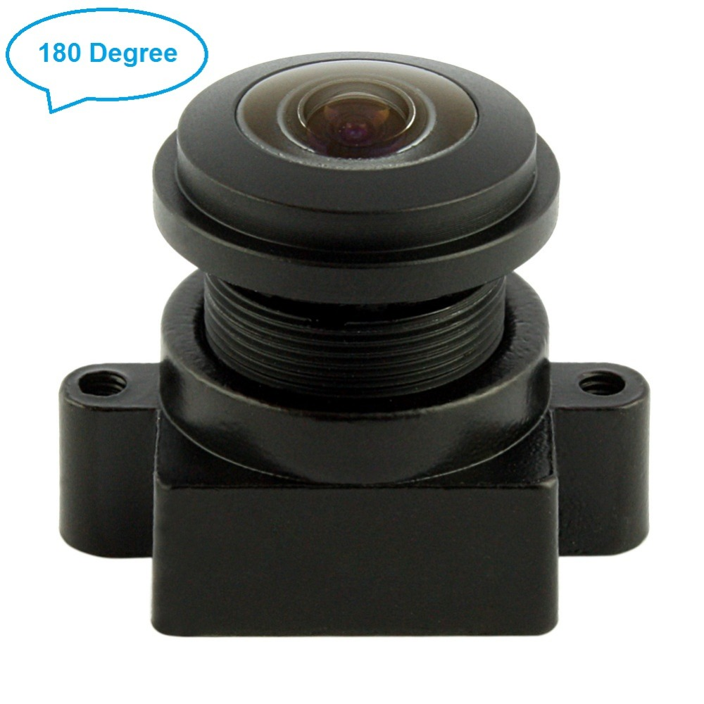 850nm IR Sensitive Lens CCTV high quality wide angle 170/ 180degree fisheye lens without ir filter for night vision cameras цена и фото