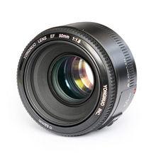 YONGNUO YN EF 50 мм f/1.8 AF Объектив Диафрагмы Автофокусом YN50mm f1.8 объектив для Canon EOS DSLR Камеры
