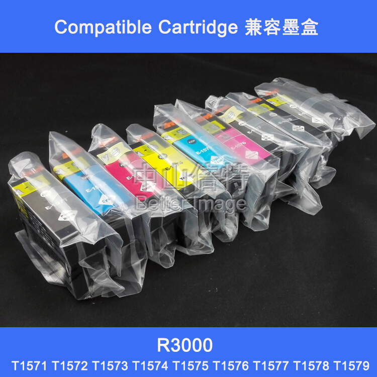XIMO R3000 ink cartridge with pigment ink,18pcs 1 lot