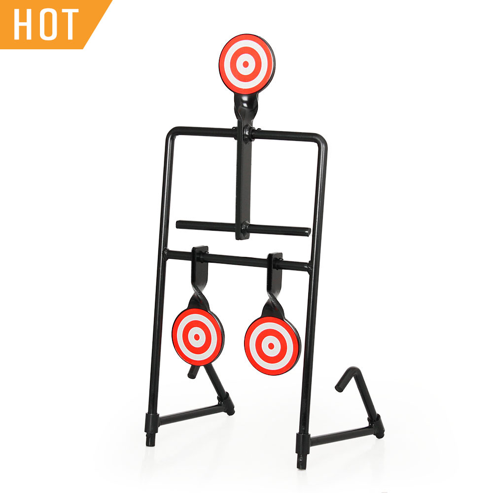 Tactical Red White Airgun Shooting Target With Rotating Samll Target For Hunting HS36-0006