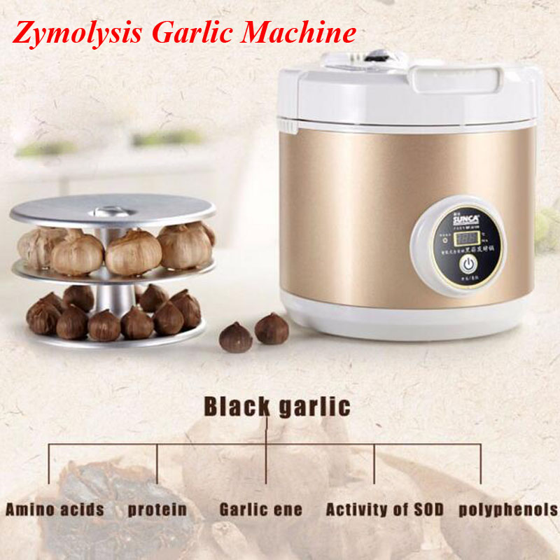 1pc All Intelligent Black Ferment Machine Garlic Zymolysis Machine Kitchen Appliances Robot Tools SF-G001