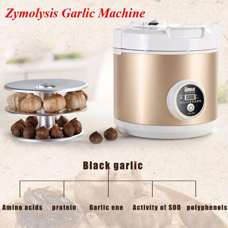 1pc All Intelligent Black Ferment Machine Garlic Zymolysis Machine Kitchen Appliances Robot Tools SF-G001