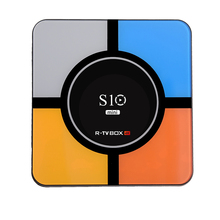 S10 мини ТВ коробка RK3318 четырехъядерный android 9. 0 4 Гб Ram 32 Гб Rom Android ТВ приставка S10 MINI