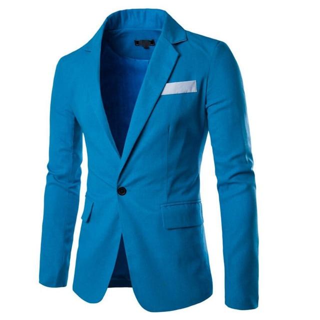 ec183db4e7038 Chaqueta Americana Hombre Formal Occasions Men Jacket Classic High Quality  Custom Wedding The Groom Coat Lapel Single-breasted