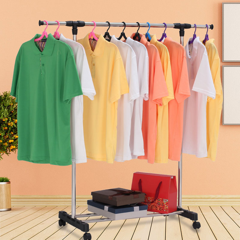standing clothes rack