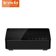 Tenda SG105 Gigabit мини настольный коммутатор 5 RJ45 Порты LAN Ethernet сети SOHO переключатели коммутации на 1.6 Гбит Ёмкость