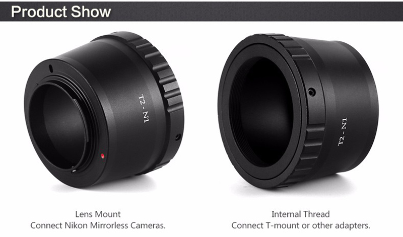 Teleskop express ts optics t ring für nikon kameras