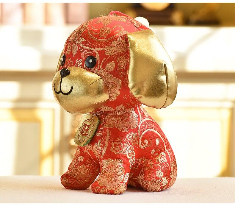 Stuffed e Plush Animais ano novo chinês para a Product : Soft Stuffed Cloteh Toys Chinese New Year Gift