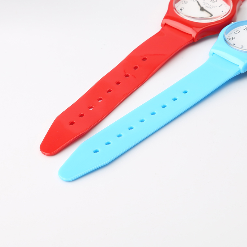 New Fashion Enkel Transparent Mini Quartz Watch Vattentät Silikon - Barnklockor - Foto 5