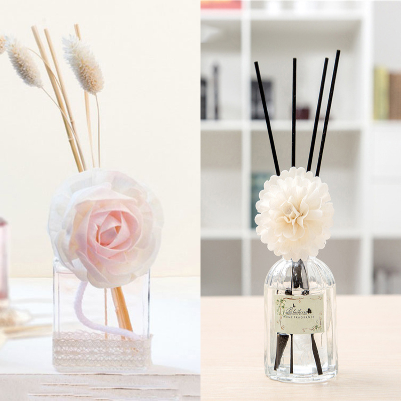 2pcs Lot 100ml 100ml Reed Diffuser With Dired Flower And
