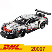 technic Series Supercar 911 GT3 rs Bugatti McLaren 23002 23006 20087 20001B 20086B 20097 Building Blocks Bricks Toy