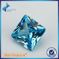 30Pcs Square Shape Princess Cut AAAAA A37 Dark Seablue Zirconia Stone 3x3-10x10mm Synthetic Gems CZ stone For Jewelry