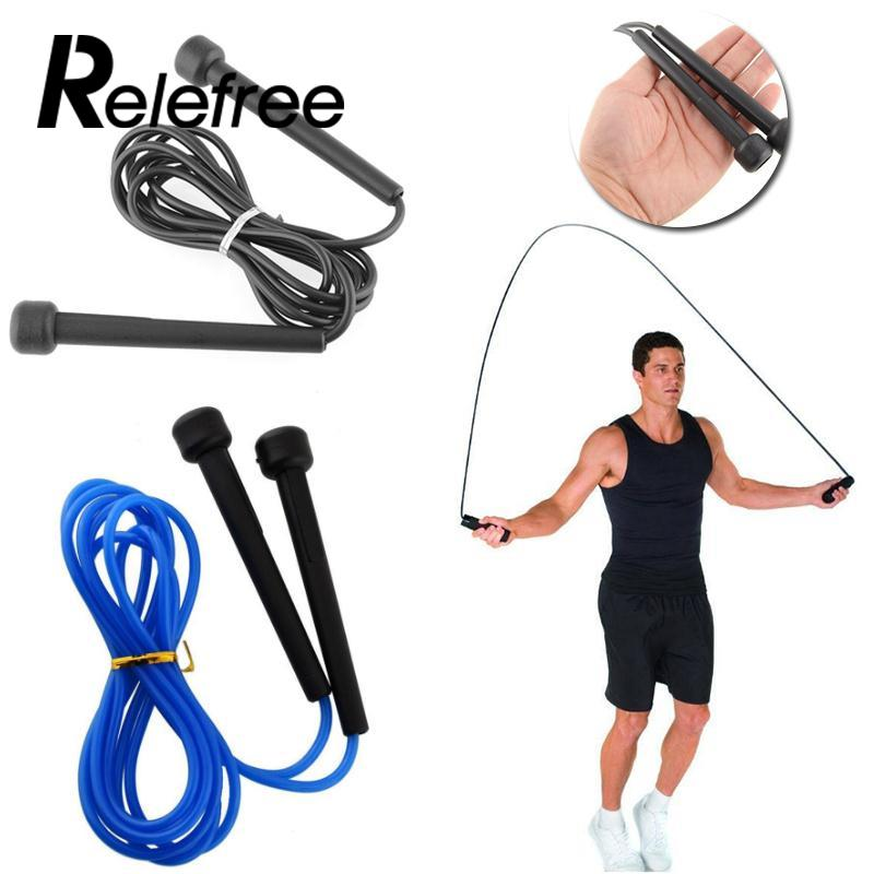2.5M Fitness Skip Rope Cord Speed Fitness Aerobic Jumping Exercise Equipment Adjustable Jump Ropes Outdoor Fitness Equipment