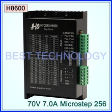 Stepper motor Driver H8600 7A 24V-70V DC  Microstep 256 for NEMA23,NEMA34 stepper motor!