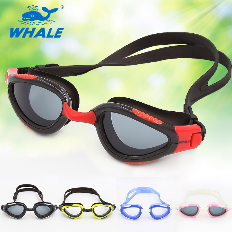 Whale Brand New Professional Anti-Fog/UV Adjustable Swimmings