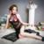 2017 Sexy Sleepwear Verão Sono Saia Mulheres Camisola de Dormir Vestido Ver Através de vestido de Noite do Estilo Chinês Preto Backless QIPAO