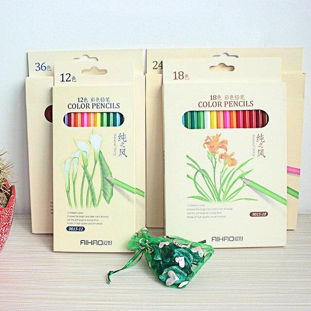 secret garden colored pencils coloring pencils 36 color water soluble colored pencil creative stationery factory