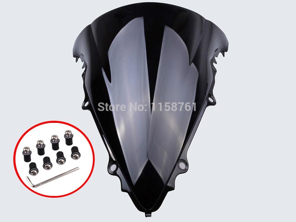 Windshield Windscreen For Yamaha YZF-R6 2003-2005 //R6S 2006-2009 Black