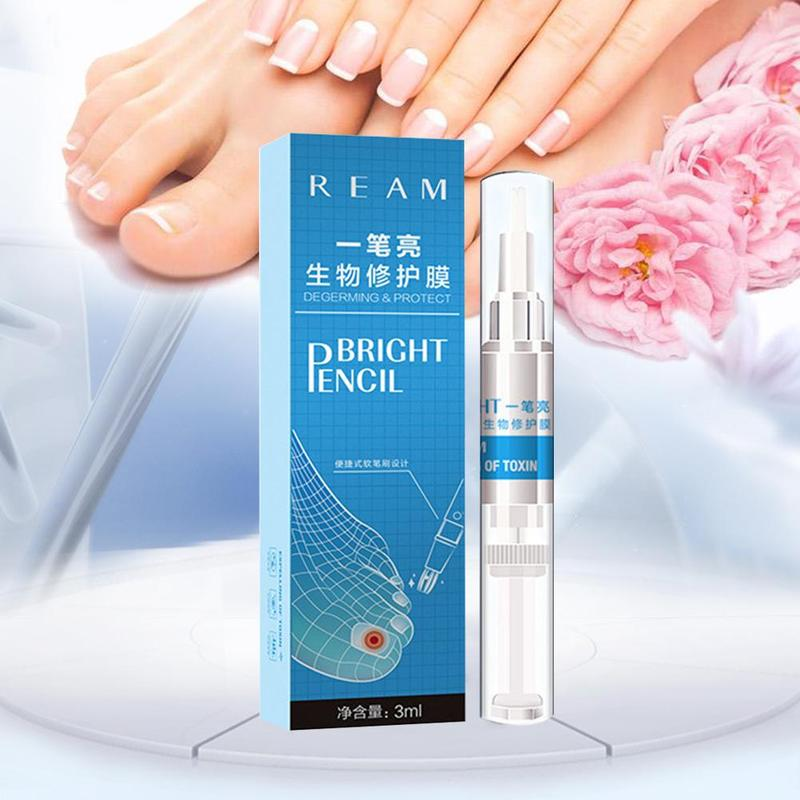 Image 3 - 3ml Restores Healthy Nail Solution Anti Fongique Infection Nail Bright Pencil Fungal Treatment Anti Fungus Biological-in Patches from Beauty & Health