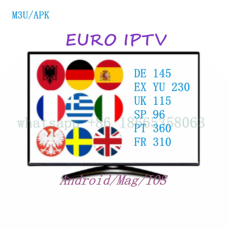 Worldwide delivery iptv europe subscription 12 months in