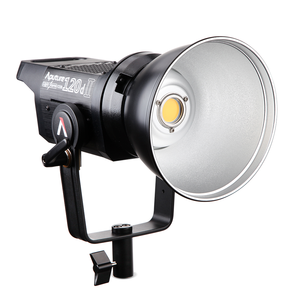 Aputure LS C120D II COB luce di controllo DMX professionale foto film di effetti di Illuminazione luce Studio di illuminazione Continua 5 V  montaggio-in Luci per set fotografico da Elettronica di consumo su AliExpress - 11.11_Doppio 11Giorno dei single 1