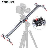 Ashanks 4 Bearings Camera Slider Aluminum Alloy DV Slider Track Video Stabilizer Rail Track Slider For