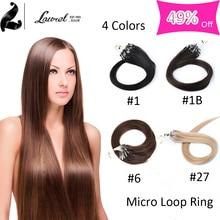 font b Brazilian b font Micro Ring Loop font b Hair b font Extensions Grade