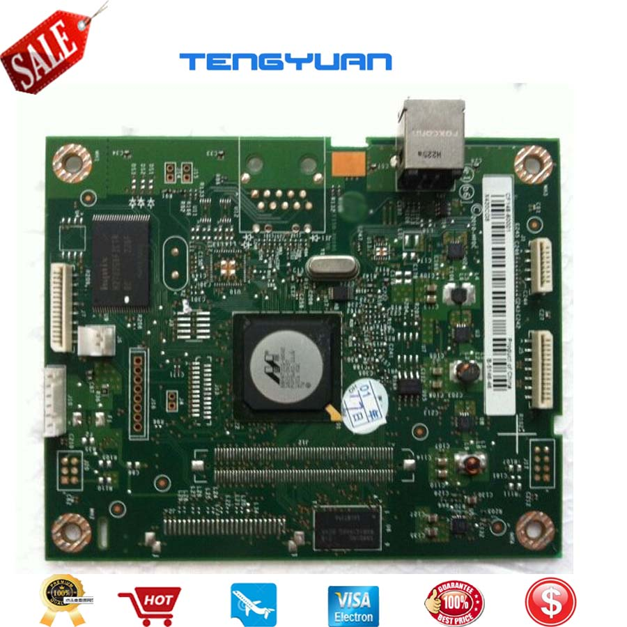 Free shipping Original Laserjet Pro400 M401A M401D Formatter Board Logic Board Main Board CF148-60001 Printer parts on sale free shipping ce831 60001 laserjet pro m1132 1215 1212formatter board 125a pressure roller printer parts on sale