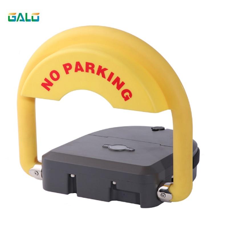 Intelligent Remote Control Parking Lock Parking Lock Anti-theft Function Alarm Sound (red Black Optional)