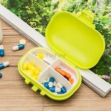 Портативный аварийный набор коробка-органайзер для таблеток для путешествий коробка для хранения первой помощи 7 дней AM PM медицинский Контейнер Чехол для таблеток