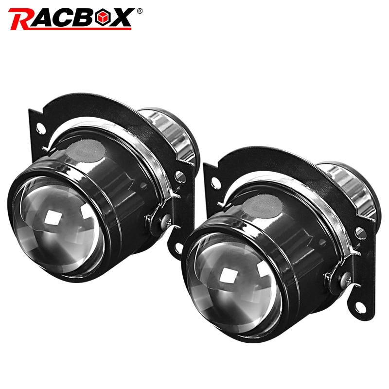 Projector Lens Fog Light Headlight Lamp 2.5 Inch Bixenon H11 Bi Led Xenon For Car Auto Off Road 24V Waterproof Worklight 12V