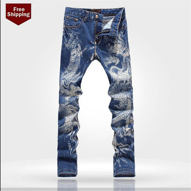 Mens Fancy Jeans Billie Jean