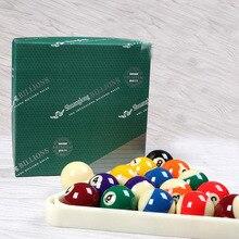 Американский Стандартный смолистые Бильярд игры в мяч 16 Цвет бильярдный бильярдные поставки/SLP2 зеленый ящик 4A 52,5 мм