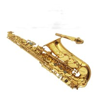 New French Selmer Alto Saxophone Musical Instruments 90 E Flat Gold Lacquer Professional Saxophone Performance
