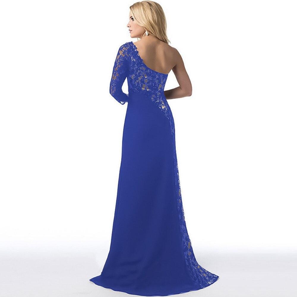 Fantastisch Blaue Spitze Brautjungfer Kleid Fotos - Brautkleider ...