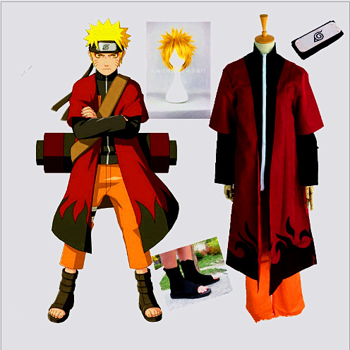 2017 free custom cosplay costume Naruto cosplay  because the second generation of animation cartoon costume-in Boys Costumes from Novelty & Special Use