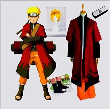 2017 free custom cosplay costume Naruto cosplay  because the second generation of animation cartoon costume