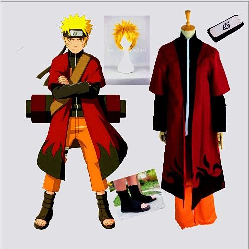 2017 livre personalizado traje cosplay Naruto cosplay porque a segunda geração de animação dos desenhos animados do traje
