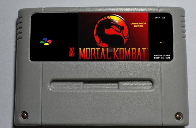 US $9 94 17% OFF|Mortal Kombat 1 2 3 lub Ostatecznym Mortal Kombat 3 Gra  Akcji Kaseta EUR Wersja w Mortal Kombat 1 2 3 lub Ostatecznym Mortal Kombat