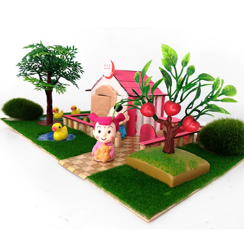 Cool Us 43 0 Aliexpress Com Buy Diy Building Blocks Assembling House Elf Bar Courtyard With Doors And Windows 3D Wooden House Childrenundefineds Toy Home Interior And Landscaping Mentranervesignezvosmurscom