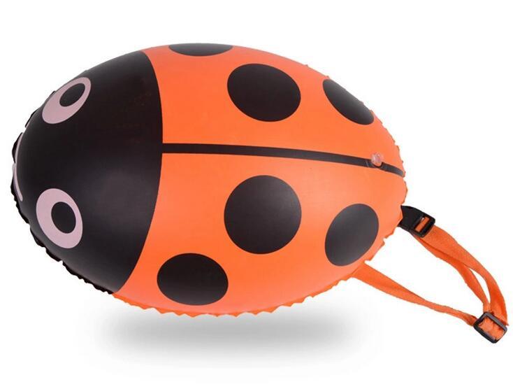 Dual airbags Stooge Oppustelig bøje Lifesaving svømmepung oppustelig Vandredningsprodukter med pumpe pumpe