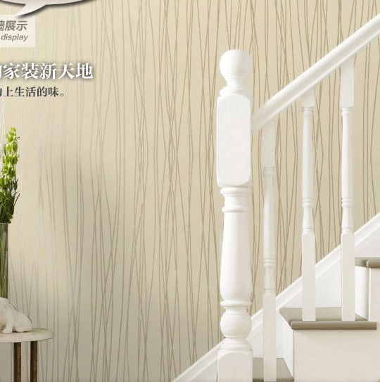 aliexpress : buy luxury striped wallpaper for walls 3d papel